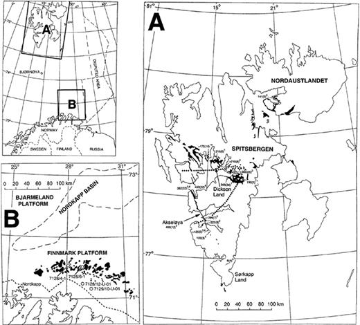 Depositional and sequence stratigraphic model for cold water index map upper left shows locations of areas studied a svalbard fandeluxe Images