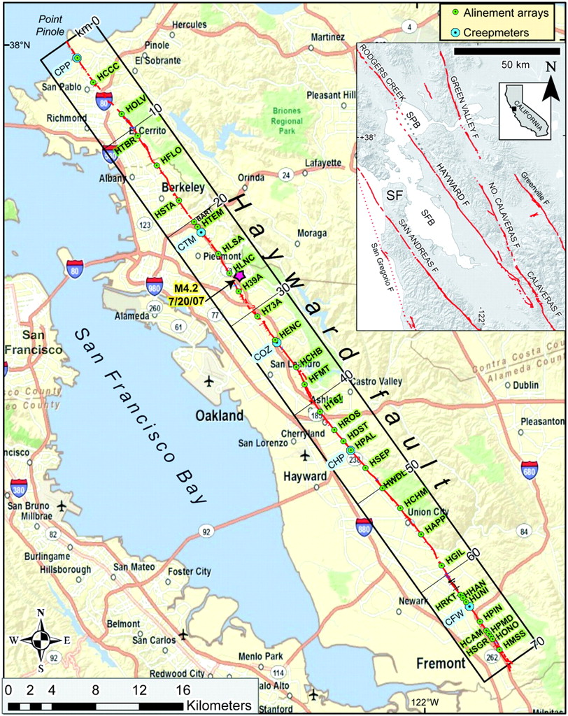 Long‐Term Creep Rates on the Hayward Fault: Evidence for Controls on ...