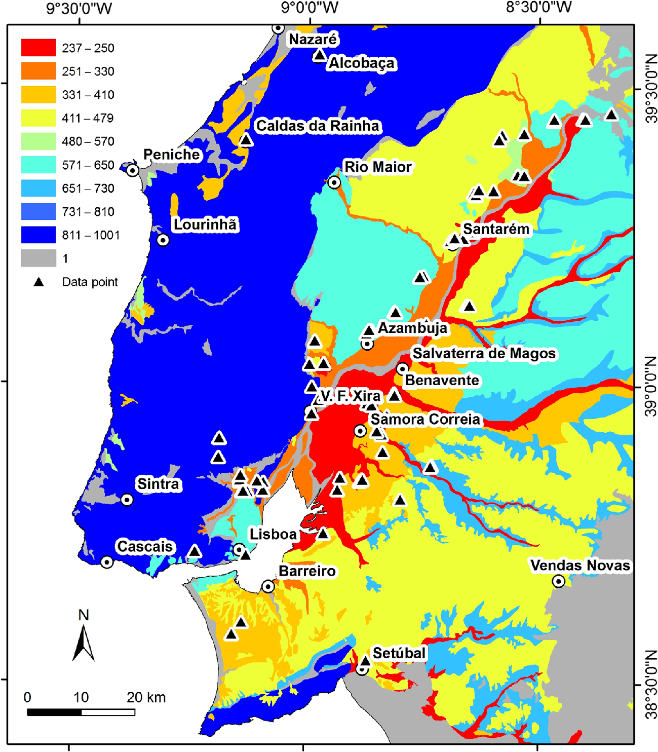 Near‐Surface Characterization of the Lisbon and Lower Tagus Valley ...