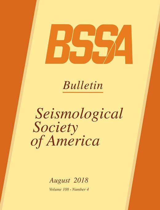 Bulletin of the seismological society of america geoscienceworld fandeluxe Gallery