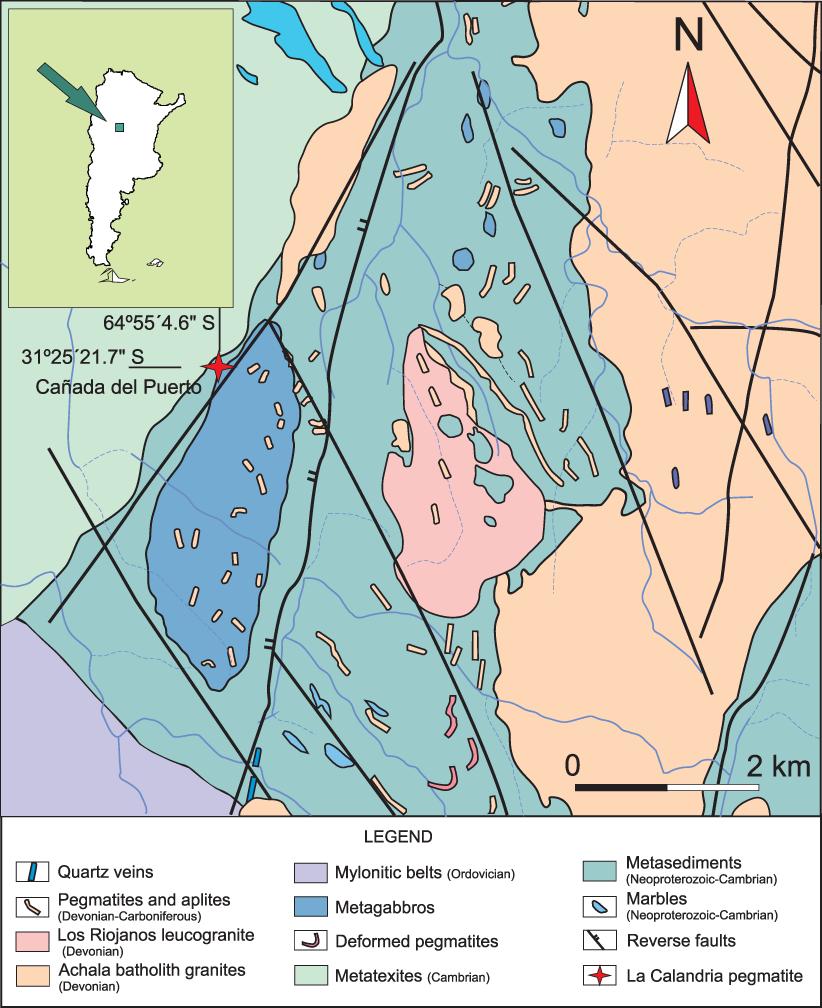 Complex Nb-ta-ti-sn Oxide Mineral Intergrowths in the La Calandria ...