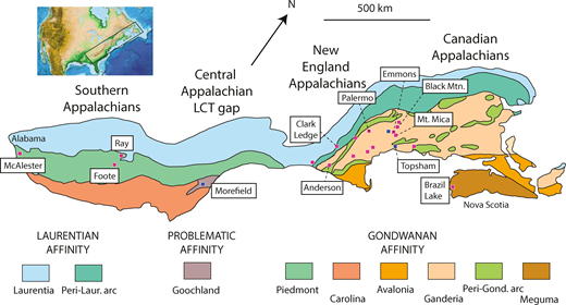 Geochronology And Tectonic Context Of Lithium Cesium Tantalum