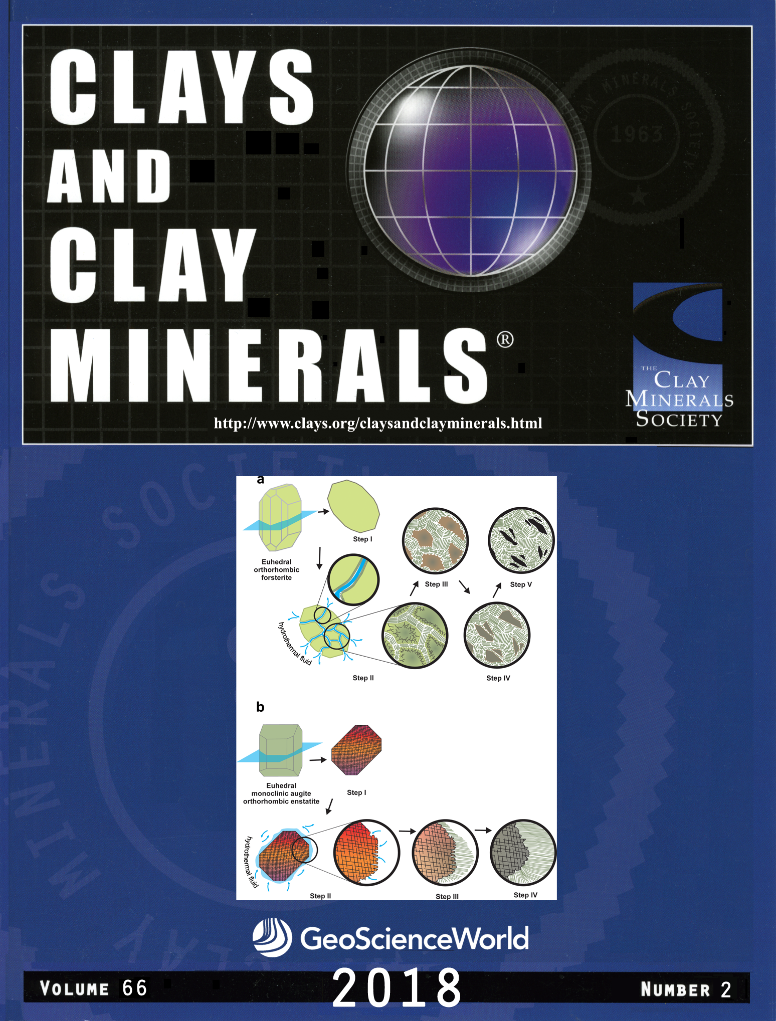 Issues Clays And Clay Minerals Geoscienceworld