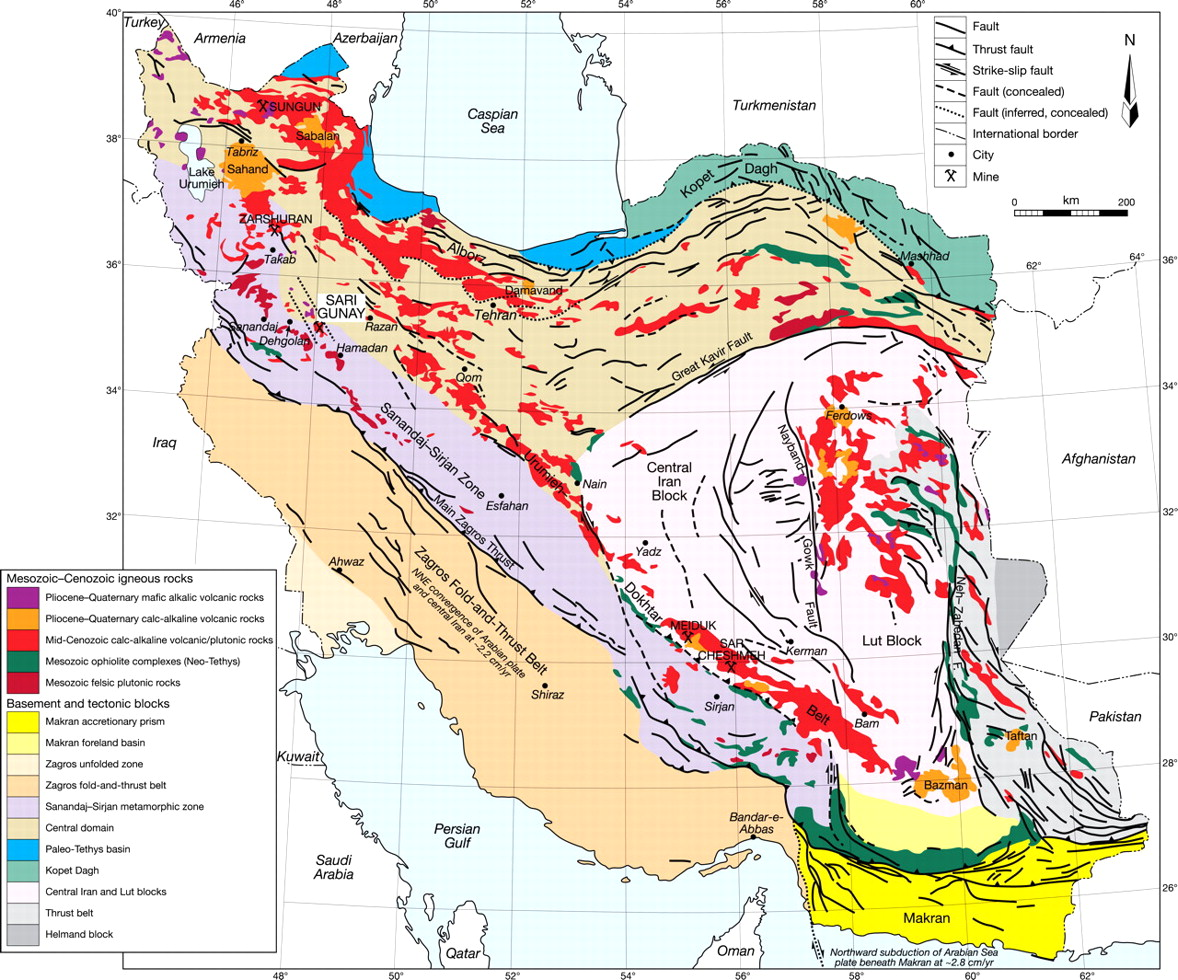 view largedownload slide geology of iran