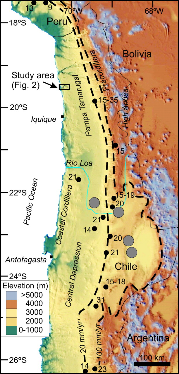Oligocene–Miocene age of aridity in the Atacama Desert revealed by ...