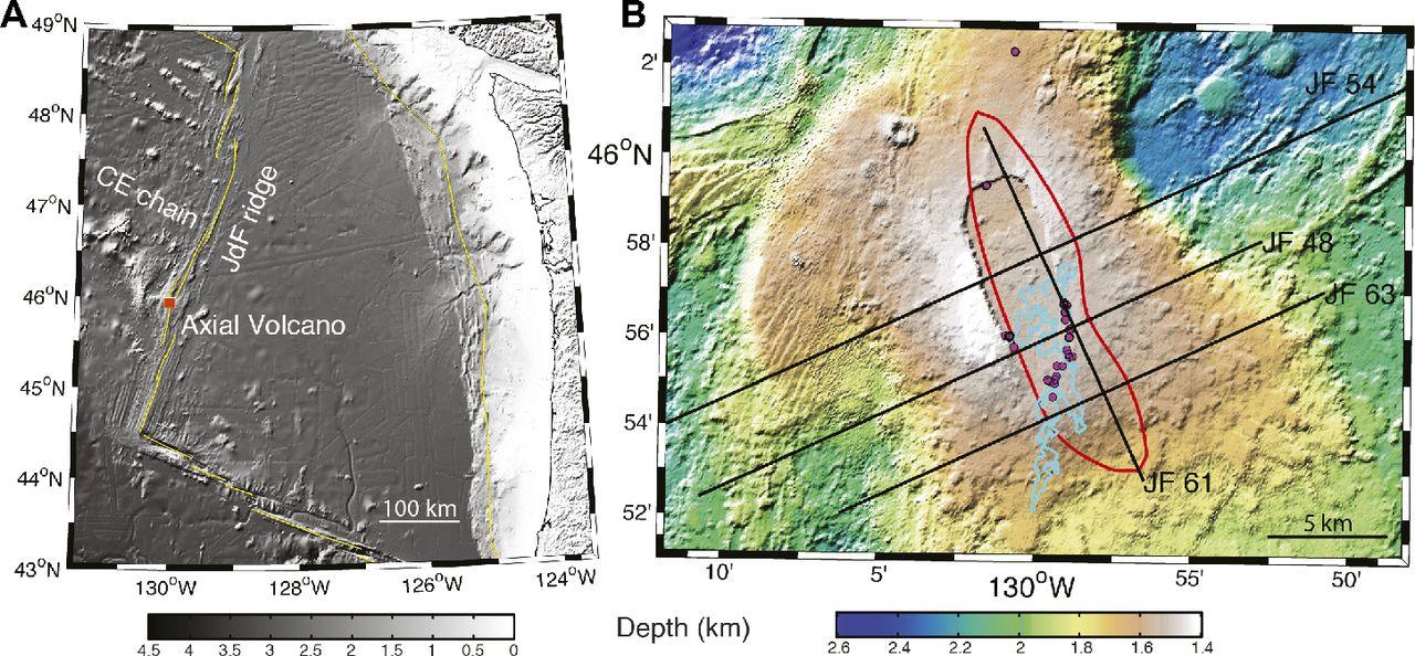 Anatomy of an active submarine volcano | Geology | GeoScienceWorld