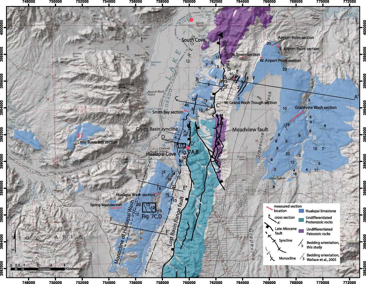 Constraints on the evolution of vertical deformation and Colorado ...