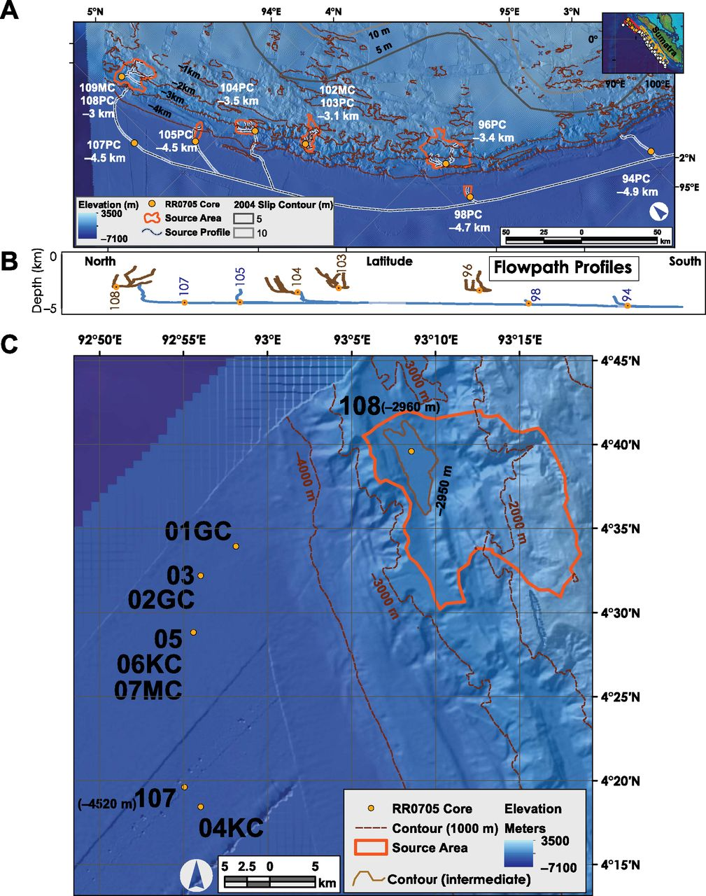 6600 year earthquake history in the region of the 2004 Sumatra ...