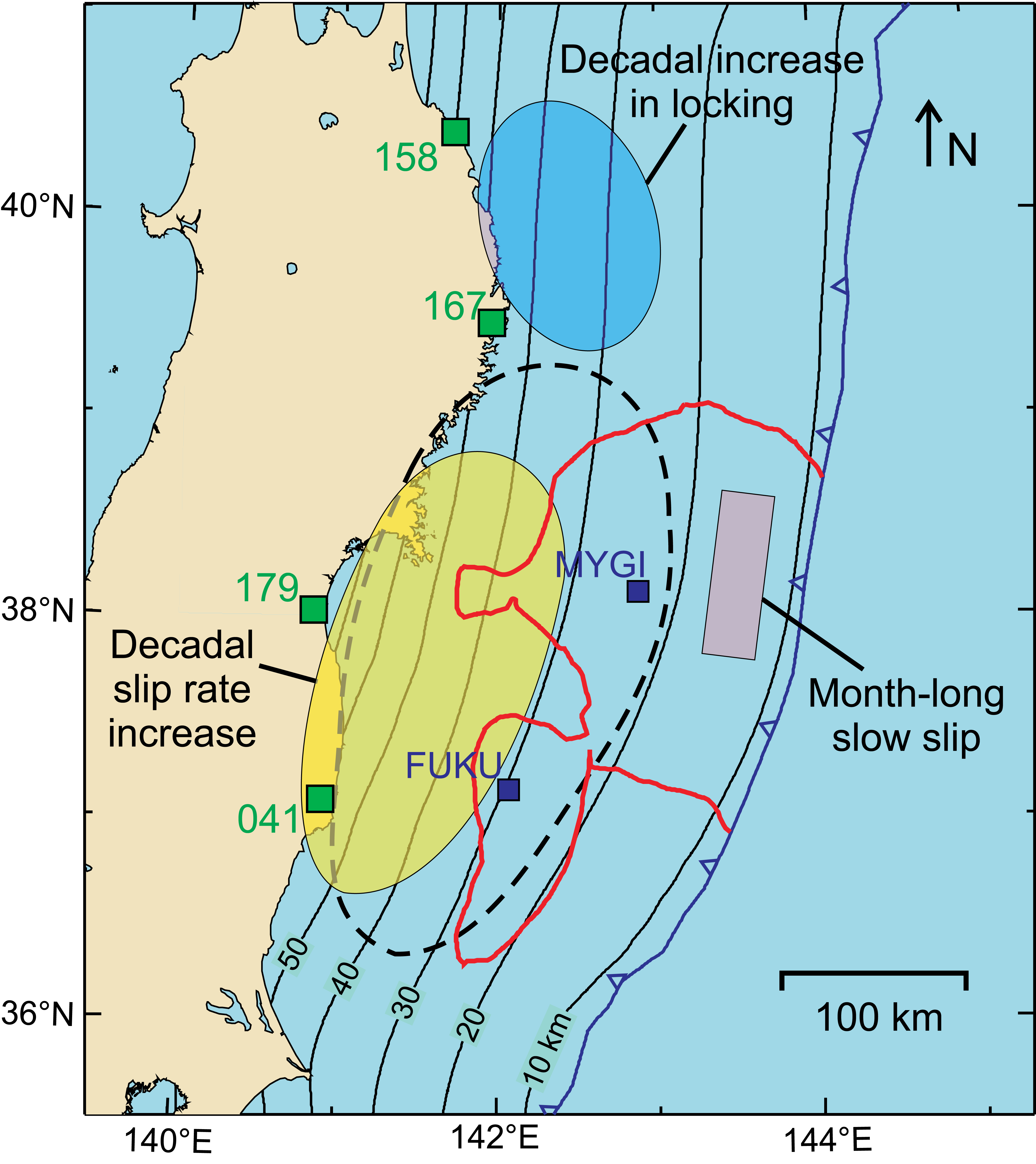 Learning from crustal deformation associated with the M9 2011 Tohoku ...