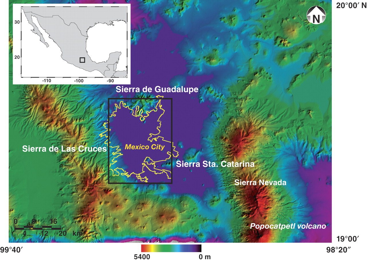 Space geodetic imaging of rapid ground subsidence in Mexico ...