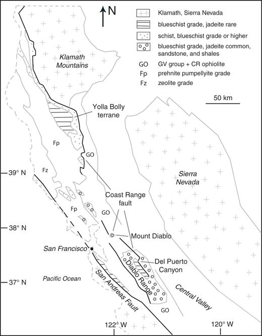 Kinematics of franciscan complex exhumation new insights from the simplified geological setting of northern california after wakabayashi 1999 kinematic studies of fandeluxe Gallery