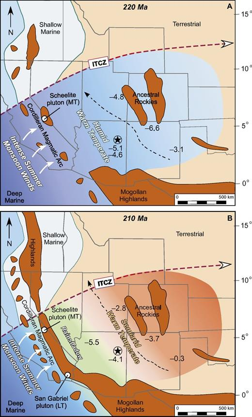 Collapse Of The Late Triassic Megamonsoon In Western Equatorial