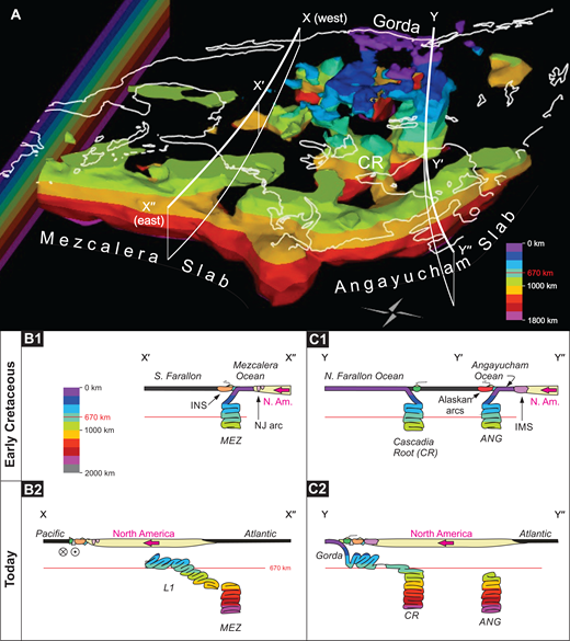 Mantle and geological evidence for a late jurassiccretaceous suture a seismically fast domains in the lower mantle beneath north america according to fandeluxe Gallery