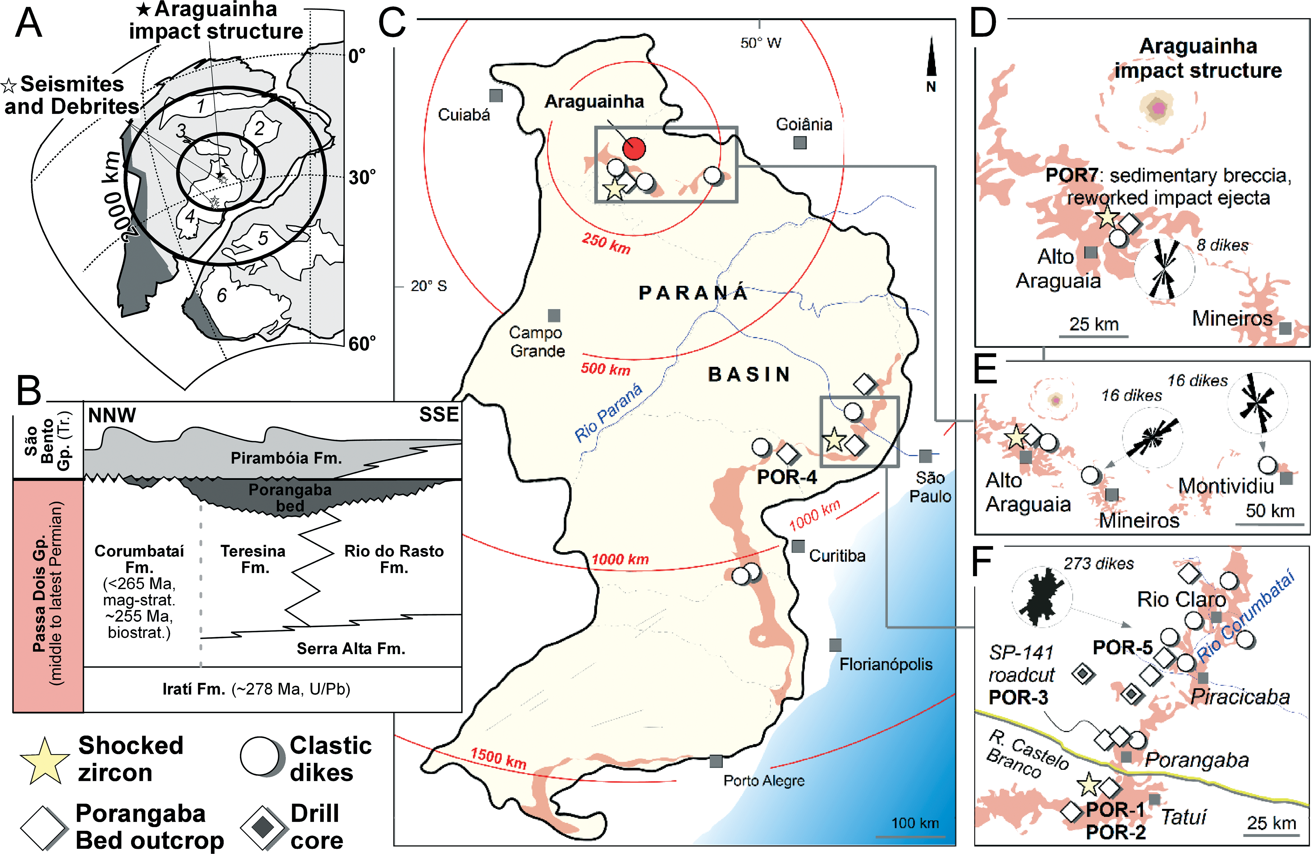 End Permian Impactogenic Earthquake And Tsunami Deposits In The