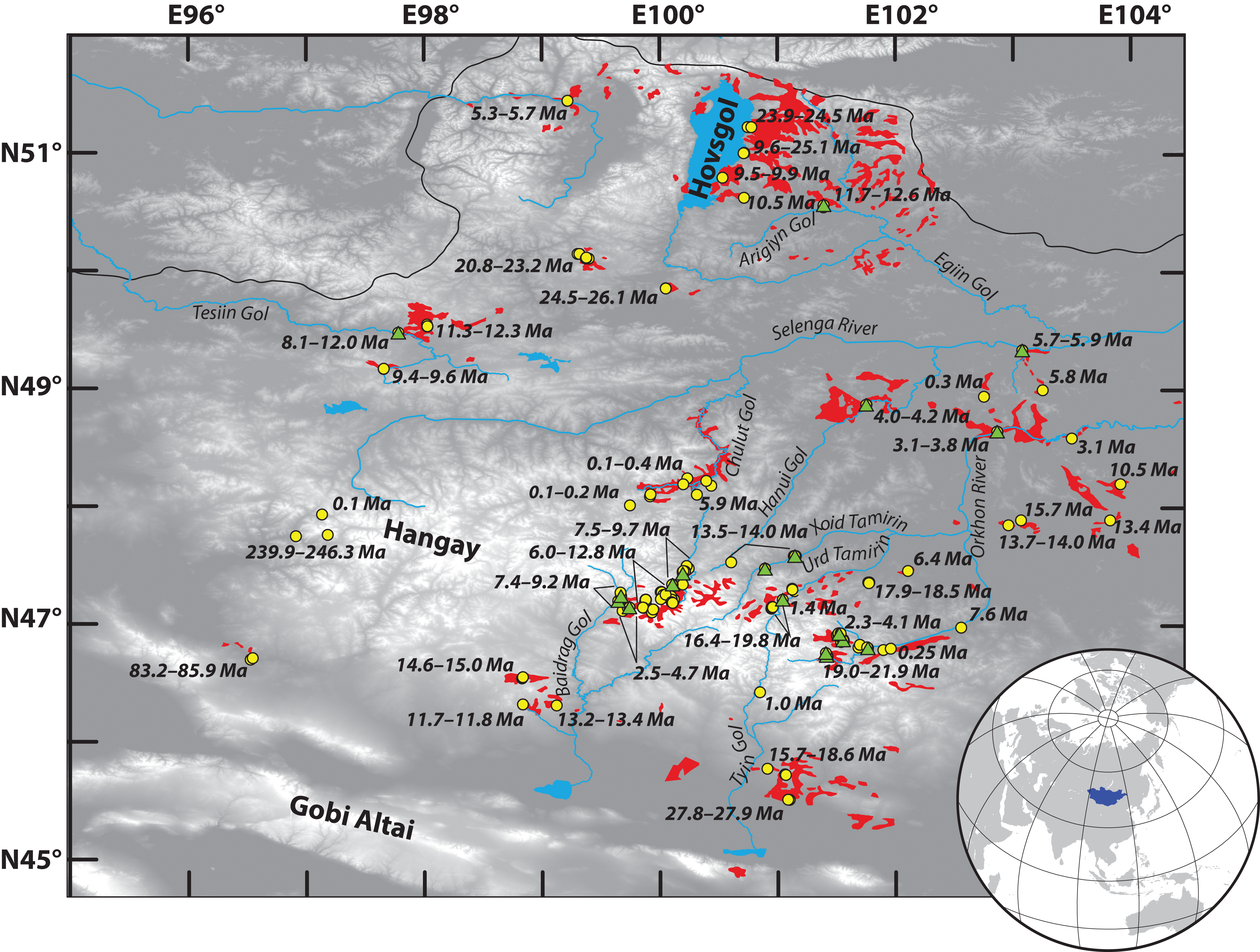 Whole rock 40ar39ar geochronology geochemistry and stratigraphy view largedownload slide fandeluxe Gallery