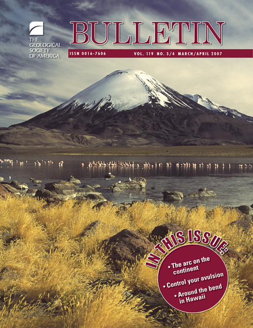 Bend origin and significance gsa bulletin geoscienceworld issue cover fandeluxe Gallery
