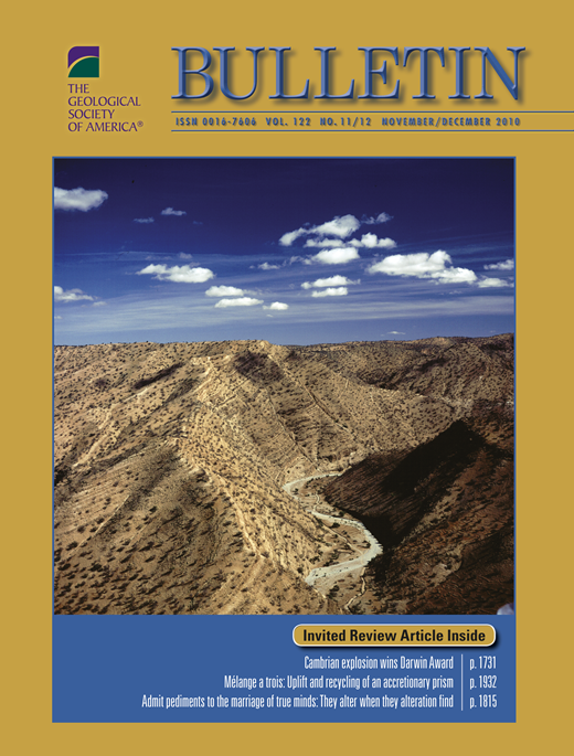 Earliest cambrian record of animals and ocean geochemical change issue cover fandeluxe Gallery