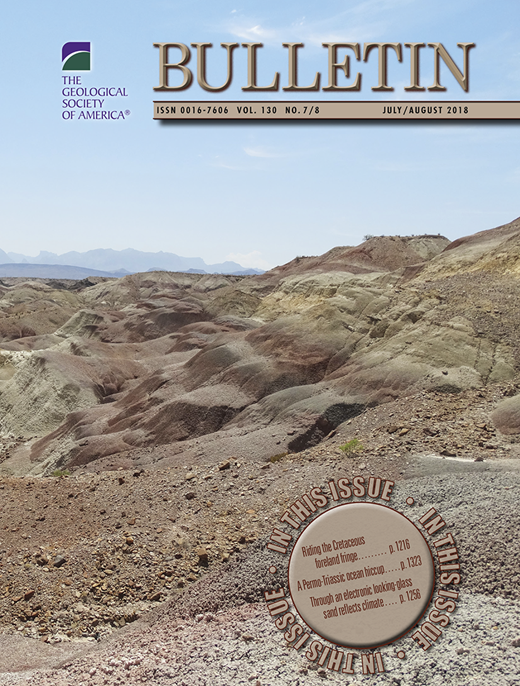 Whole rock 40ar39ar geochronology geochemistry and stratigraphy issue cover abstract introduction geologic setting fandeluxe Gallery