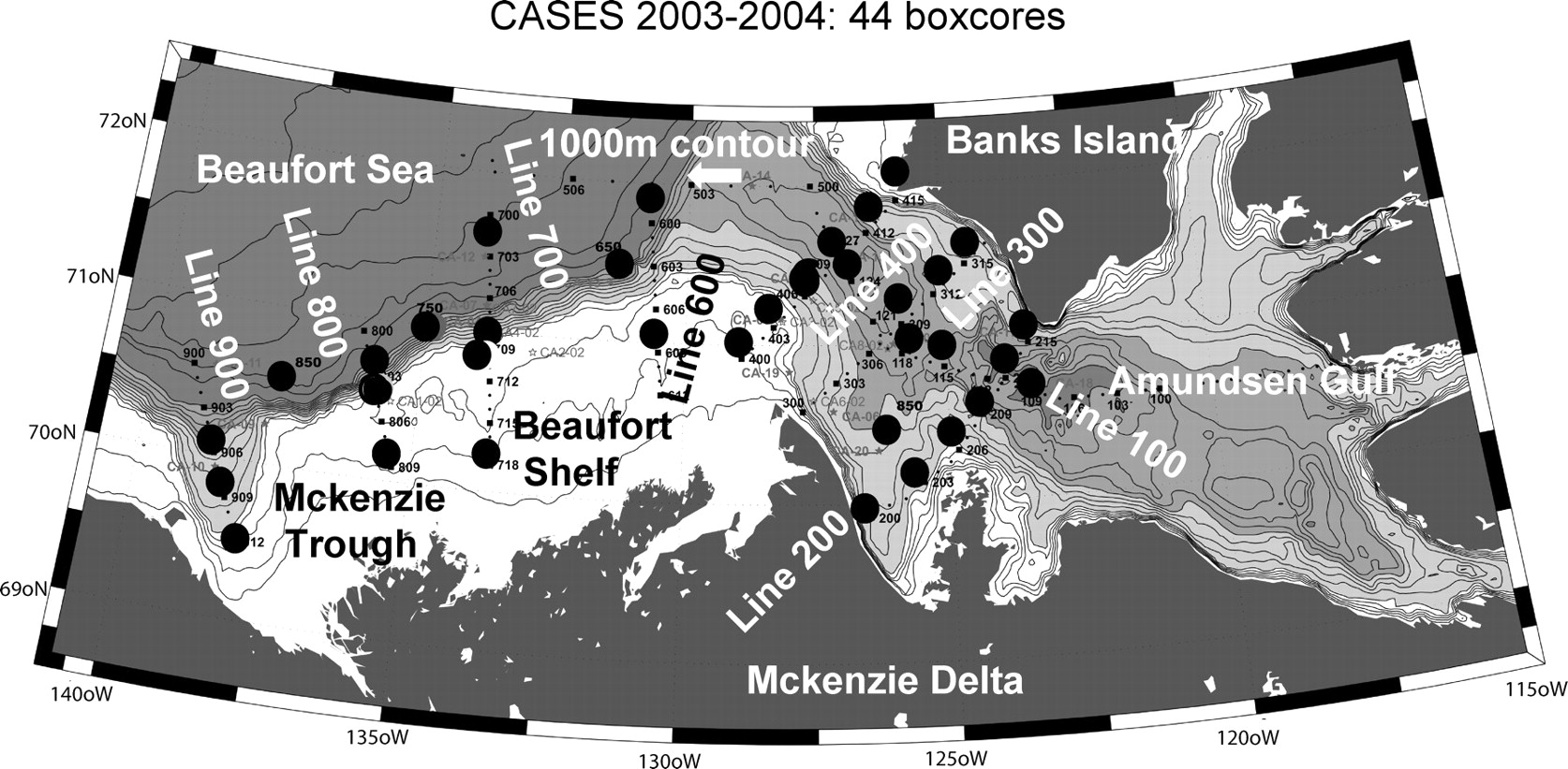 Modern benthic foraminifera in the surface sediments of the beaufort view largedownload slide fandeluxe Images