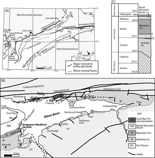 Controls On The Stratigraphic Development Of The Triassic Fundy