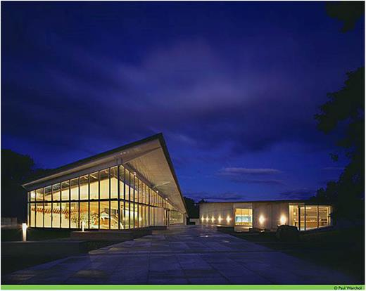 The Museum of the Earth at the Paleontological Research Institution, Ithaca, NY. Photo by Paul Warchol.