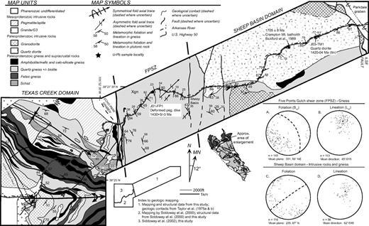 Characteristics And Implications Of Ca 14 Ga Deformation Across A