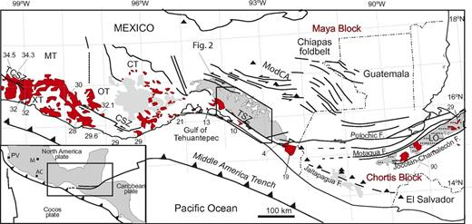 Geology Of The Coastal Chiapas Mexico Miocene Plutons And The