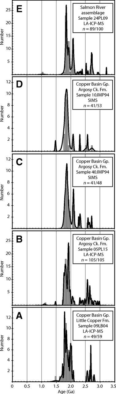Detrital zircon record of mid-Paleozoic convergent margin activity ...