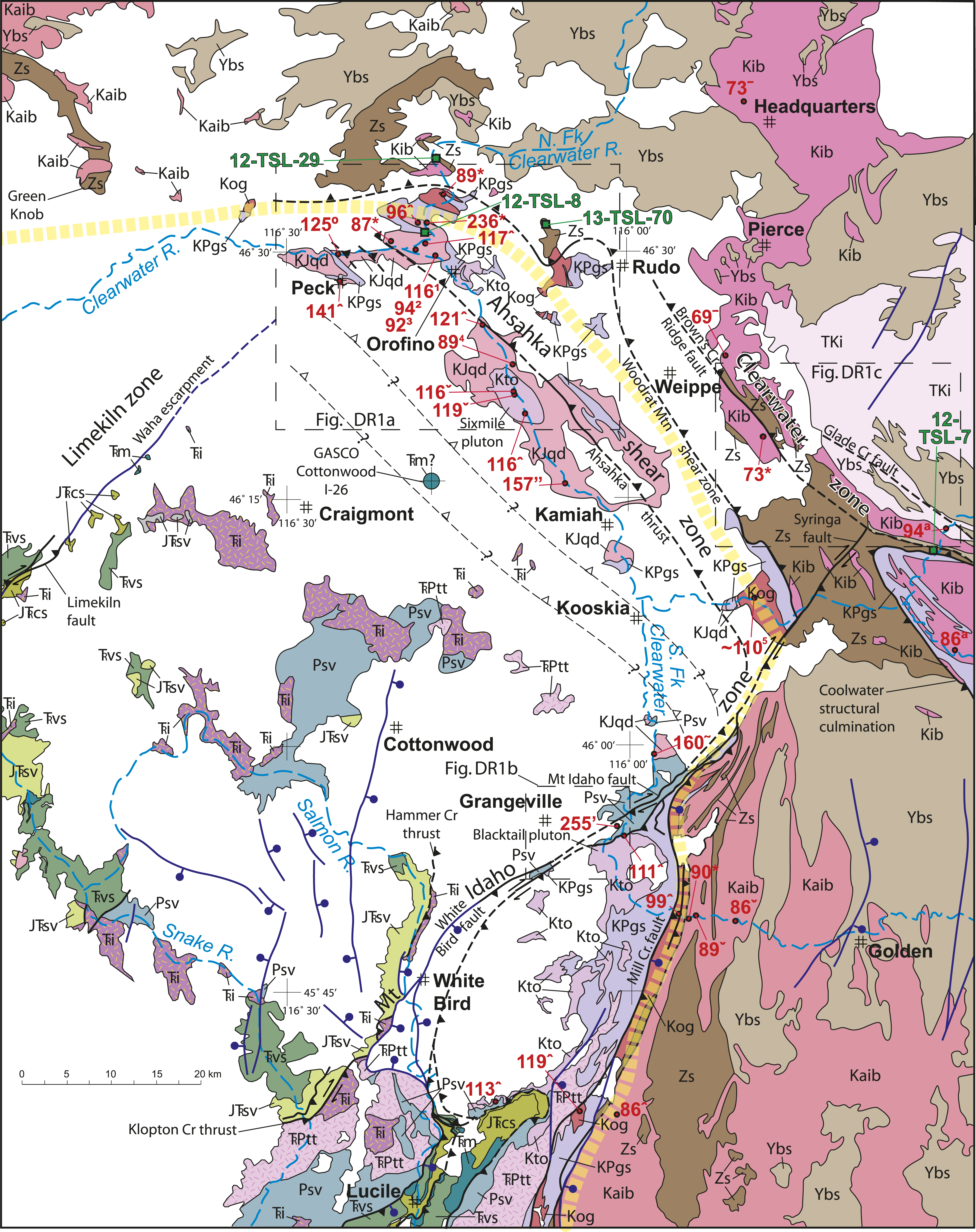 Tectonic evolution of the Syringa embayment in the central North ...