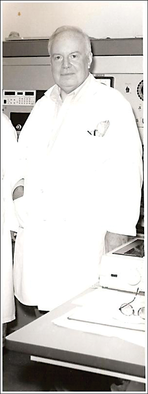 John Morgan was an innovator and major player in the development of the Re-Os isotope system, and the study of siderophile elements in general. He is shown here in laboratory attire at the U.S.G.S in Reston, VA in the early 1990's.