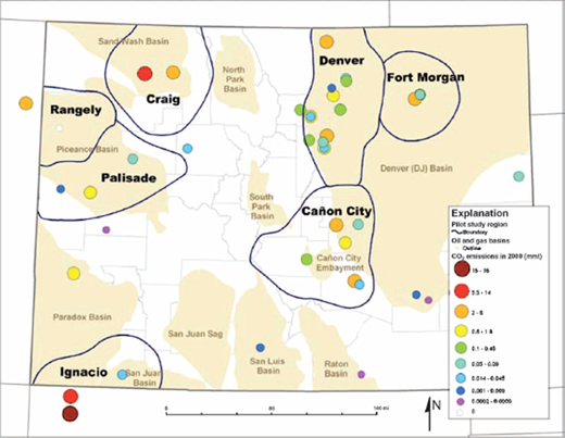 Regional assessment of co2 geological sequestration potential general outline of pilot study regions the consolidated sedimentary basins underlying each region and fandeluxe Images