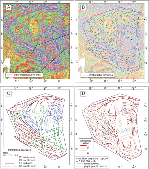 Zagros tectonics and metallogeny of the tethyan orogenic belt stages of the structural interpretation of magnetic data a first vertical derivative fandeluxe Gallery