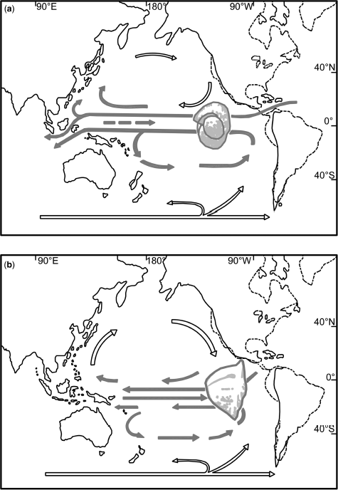 Australian new zealand asian and sino japanese histories tropical surface circulation and closing of the indonesian seaway as reconstructed by srinivasan sinha fandeluxe Image collections