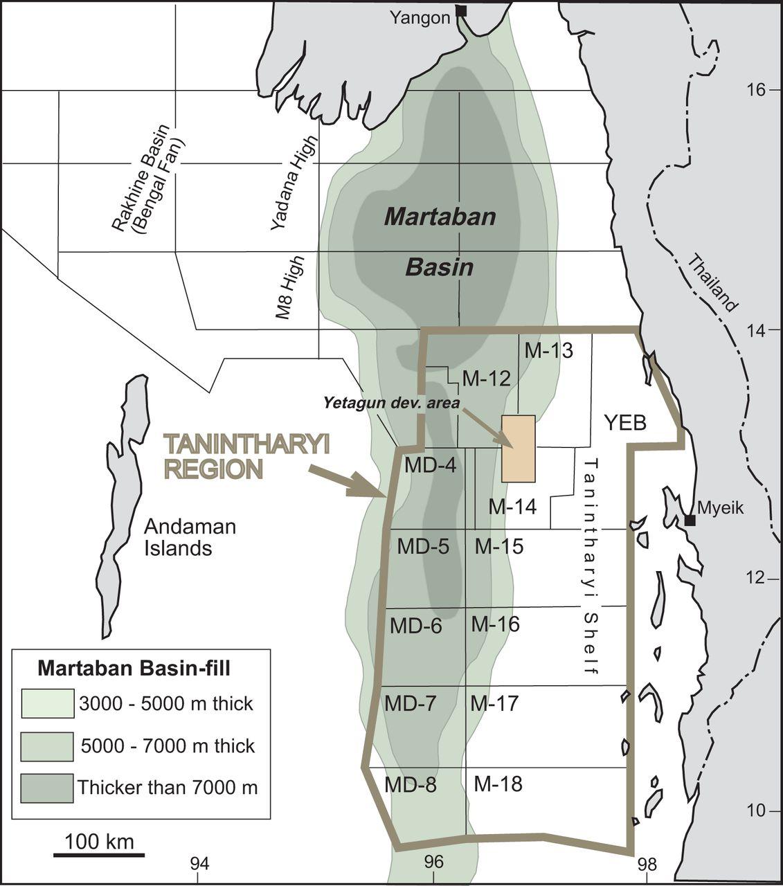 Petroleum geology of the tanintharyi region myanmar petroleum view largedownload slide fandeluxe Choice Image