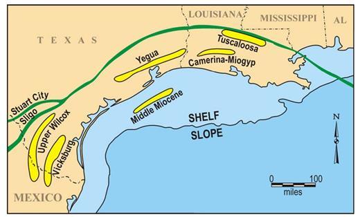 Shelf-to-Slope Subsurface Petroleum Systems | Shelf Margin Deltas ...