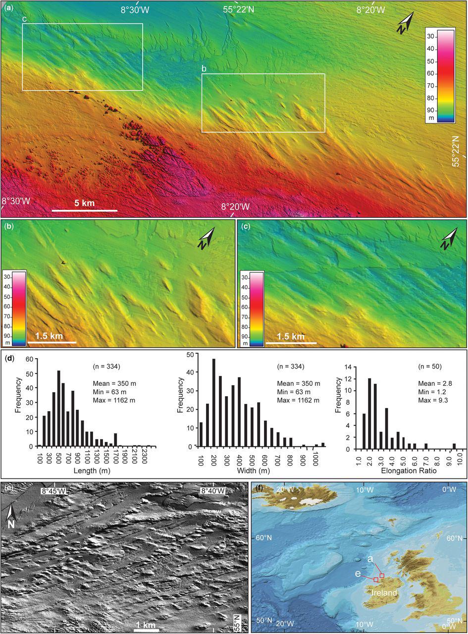 Continental shelf: landforms   Atlas of Submarine Glacial