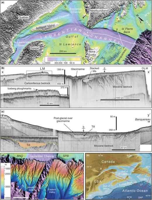 Continental shelf: landforms | Atlas of Submarine Glacial