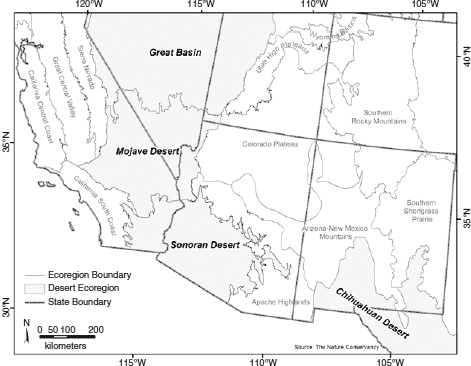 Military environmental stewardship military geosciences in the deserts in the ecoregions of the southwestern united states the great basin is not included publicscrutiny Images